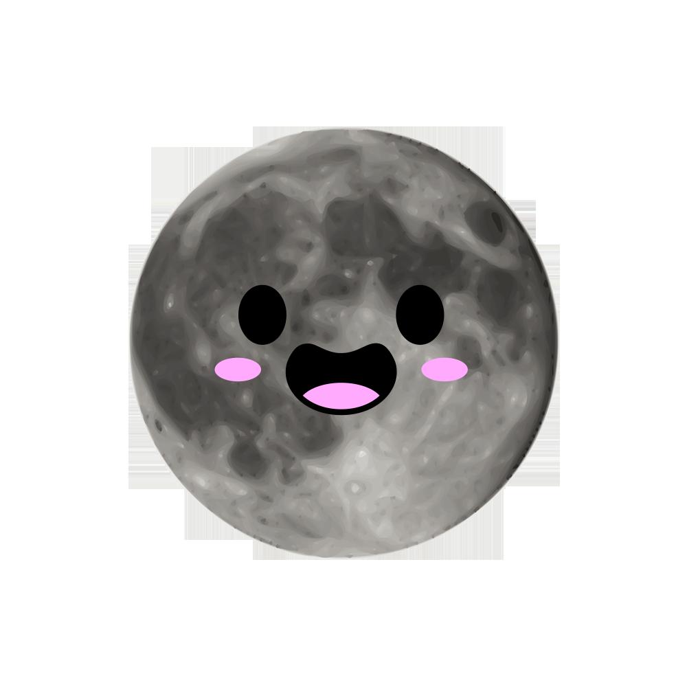 MOONEMOJI - Full Moon Emojis messages sticker-0