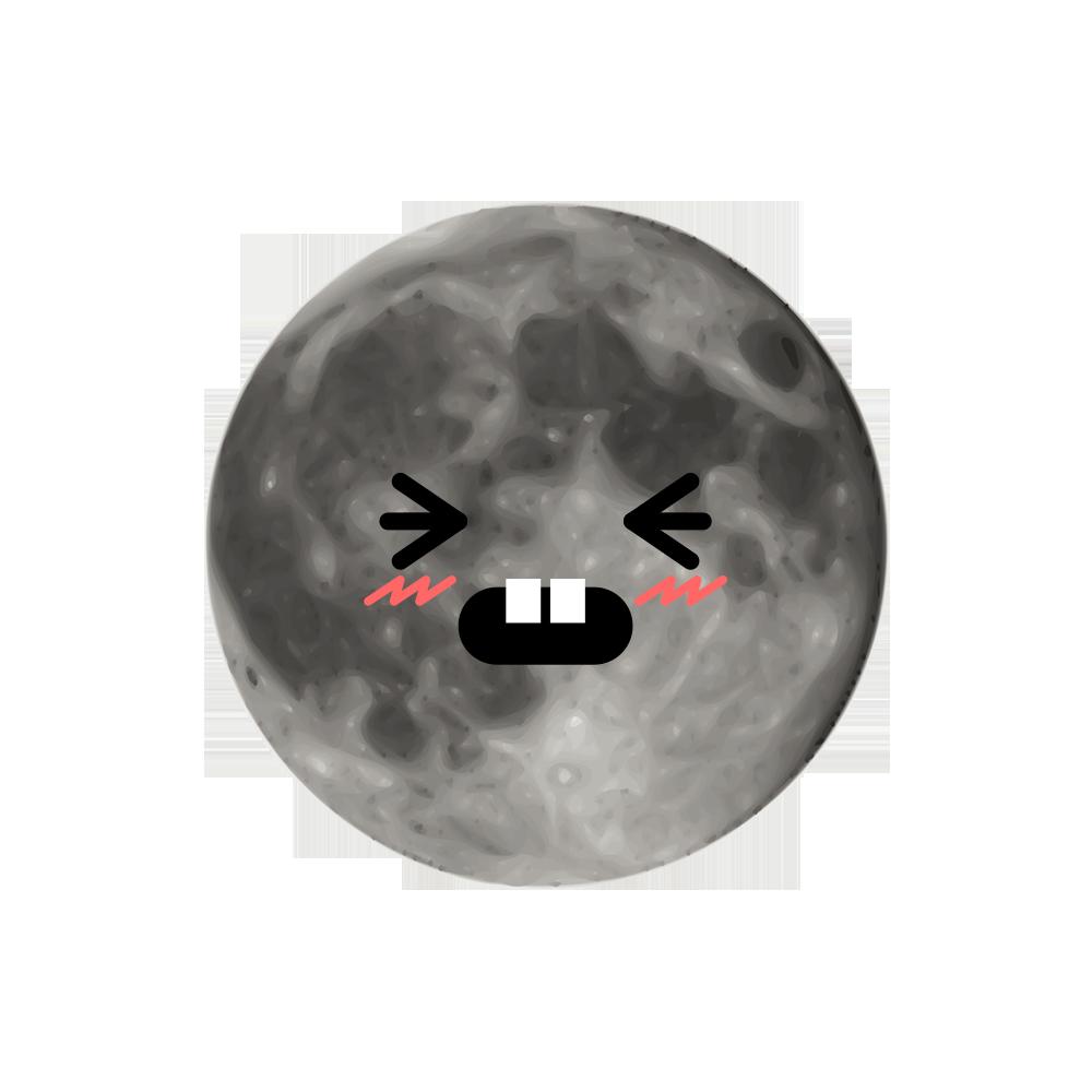 MOONEMOJI - Full Moon Emojis messages sticker-11