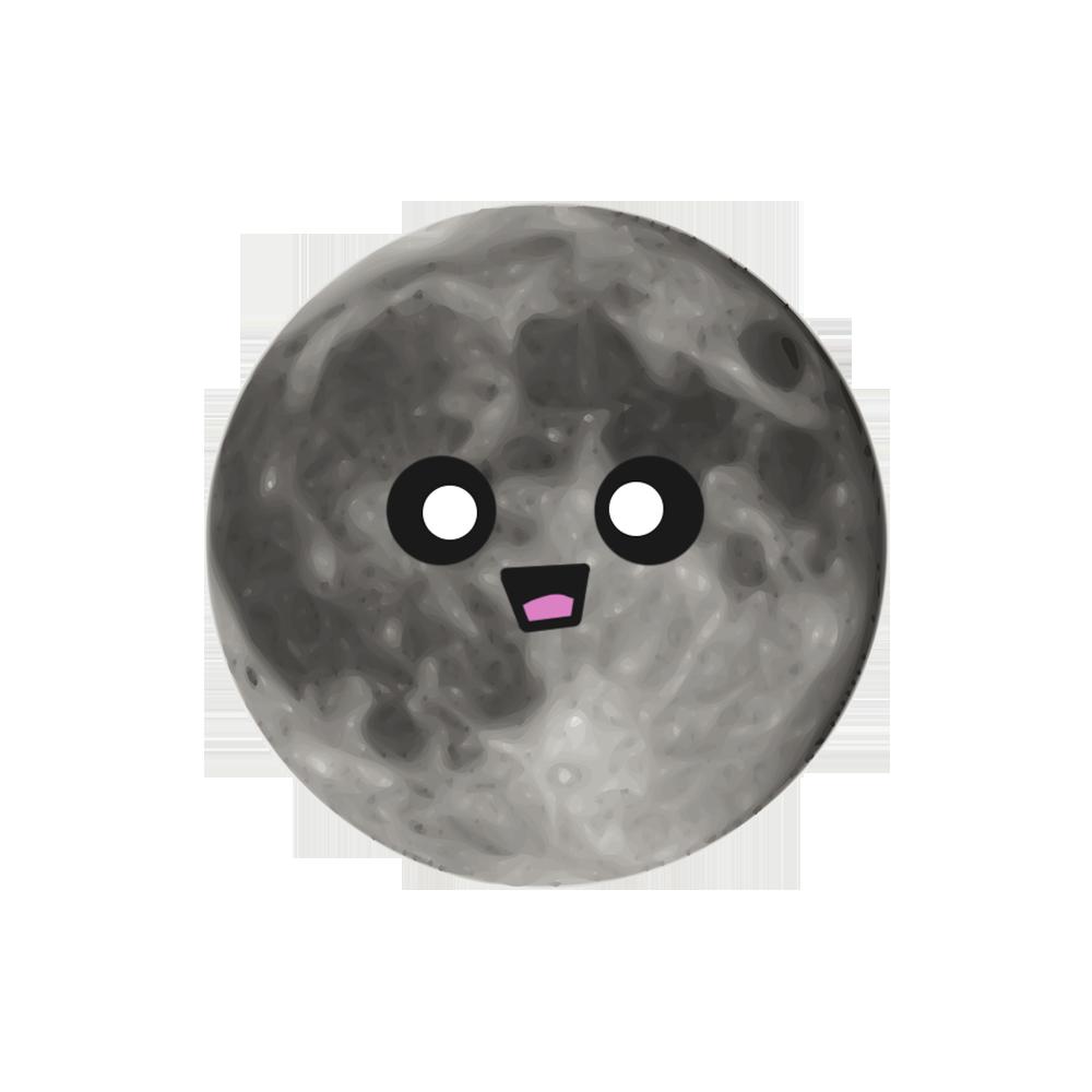MOONEMOJI - Full Moon Emojis messages sticker-10