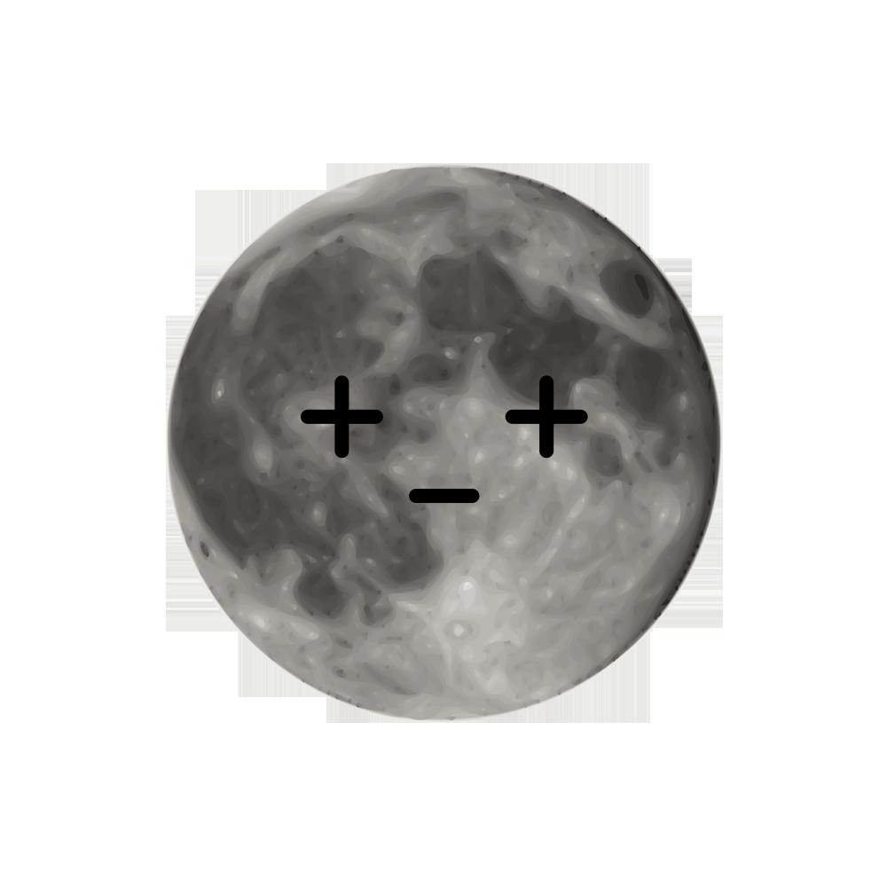 MOONEMOJI - Full Moon Emojis messages sticker-7