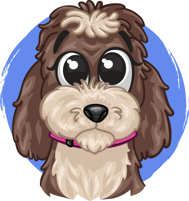 Poppy The Dog messages sticker-0