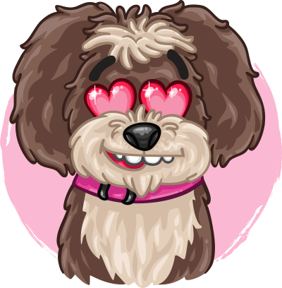 Poppy The Dog messages sticker-5