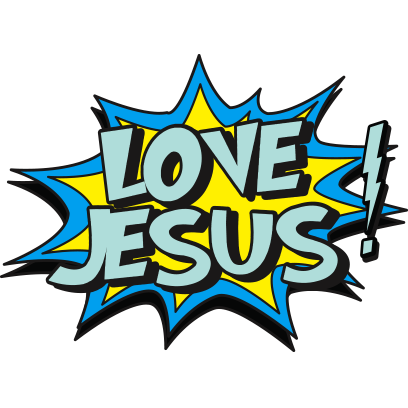 Shout Gods Love With Stickers messages sticker-3