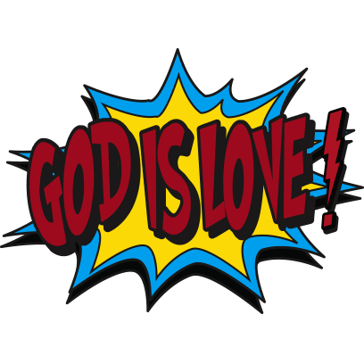 Shout Gods Love With Stickers messages sticker-8