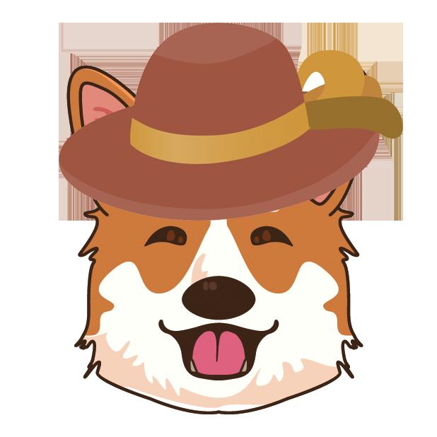 CorgiMoj - Corgi Emoji & Stickers messages sticker-0