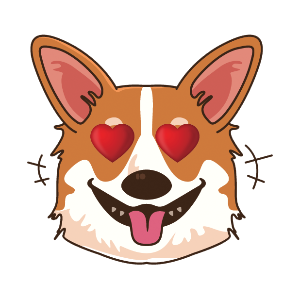 CorgiMoj - Corgi Emoji & Stickers messages sticker-9