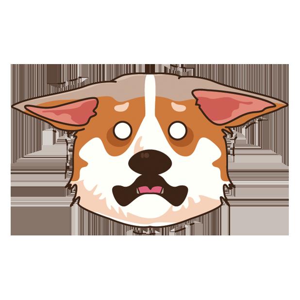 CorgiMoj - Corgi Emoji & Stickers messages sticker-8