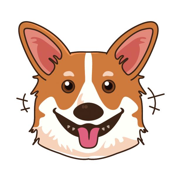CorgiMoj - Corgi Emoji & Stickers messages sticker-2
