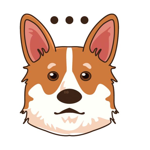 CorgiMoj - Corgi Emoji & Stickers messages sticker-1