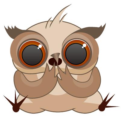 Amusing Owl Stickers messages sticker-8
