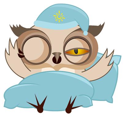 Amusing Owl Stickers messages sticker-11