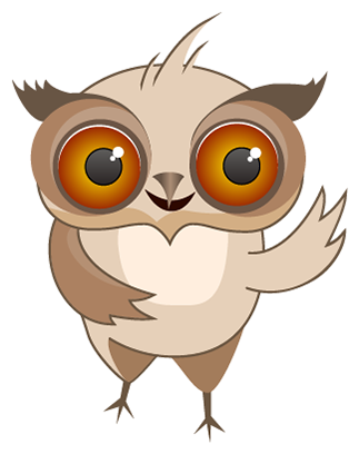 Amusing Owl Stickers messages sticker-0