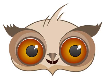 Amusing Owl Stickers messages sticker-3