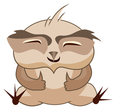 Amusing Owl Stickers messages sticker-9