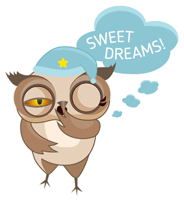 Amusing Owl Stickers messages sticker-10