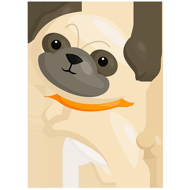 PugMojis - Pug Emoji & Sticker messages sticker-2
