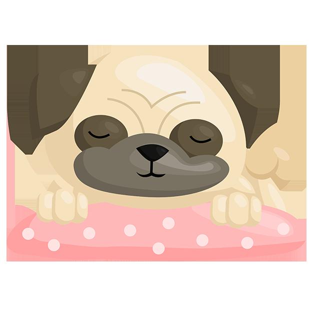 PugMojis - Pug Emoji & Sticker messages sticker-3