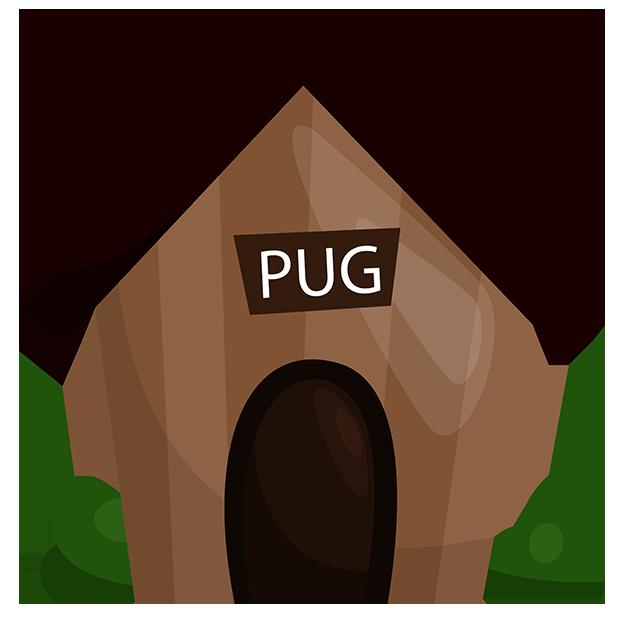 PugMojis - Pug Emoji & Sticker messages sticker-6
