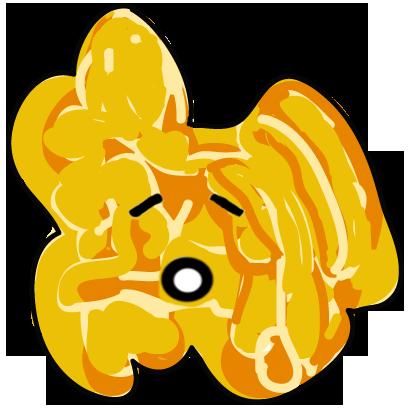The Funky Popcorn Emoji Stickers messages sticker-3