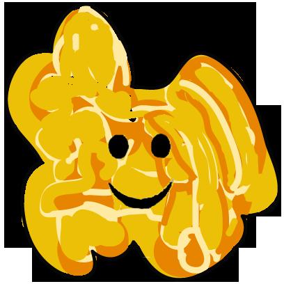The Funky Popcorn Emoji Stickers messages sticker-0