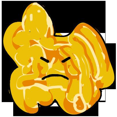The Funky Popcorn Emoji Stickers messages sticker-2
