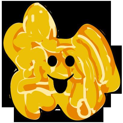 The Funky Popcorn Emoji Stickers messages sticker-7