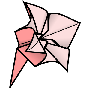 Learn How to Make Origami messages sticker-7