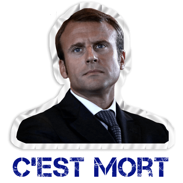 Macron Président 2017-2022 Stickers autocollants messages sticker-6