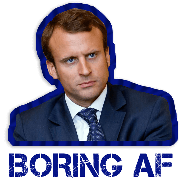 Macron Président 2017-2022 Stickers autocollants messages sticker-3