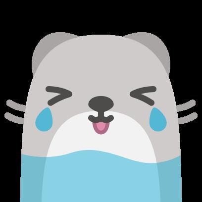 Baubau the little Weasel messages sticker-0
