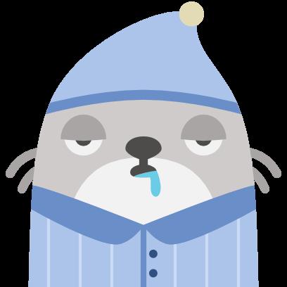 Baubau the little Weasel messages sticker-5