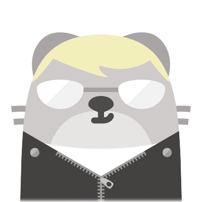 Baubau the little Weasel messages sticker-7