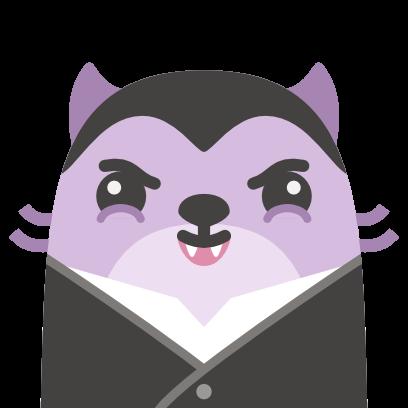 Baubau the little Weasel messages sticker-10