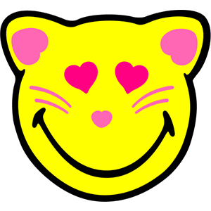 Smiley Cat Pack messages sticker-9