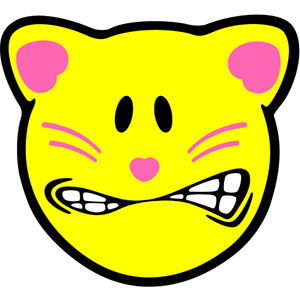 Smiley Cat Pack messages sticker-8