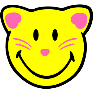 Smiley Cat Pack messages sticker-0