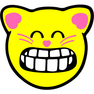 Smiley Cat Pack messages sticker-3