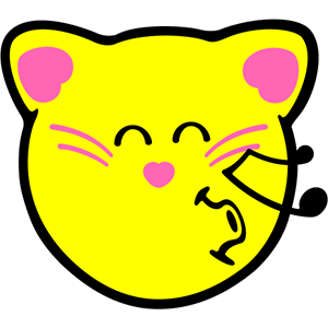 Smiley Cat Pack messages sticker-4