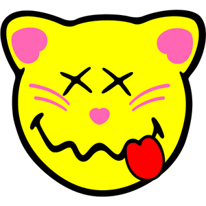 Smiley Cat Pack messages sticker-5