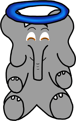 Baxbo the Elephant messages sticker-9