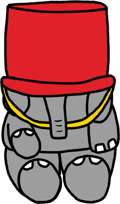 Baxbo the Elephant messages sticker-1