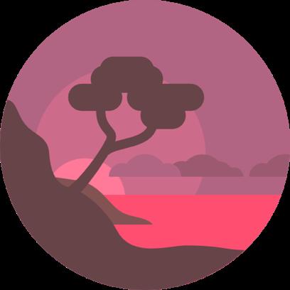 Landscapes Sticker Pack for iMessage messages sticker-2