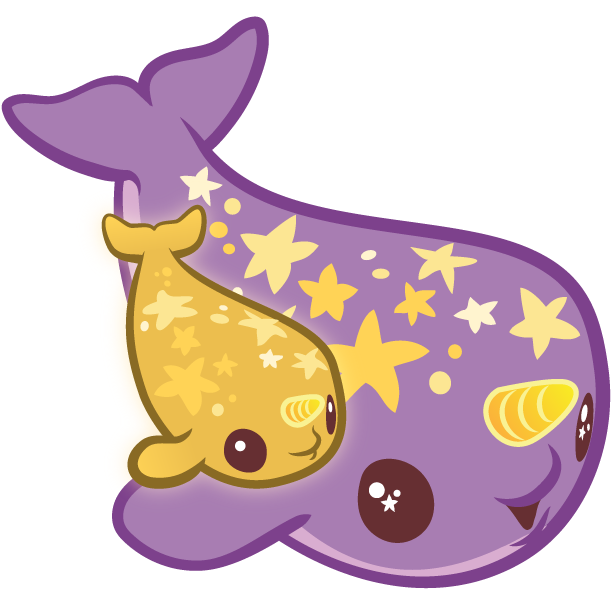inki-Drop Starwhal Stickers messages sticker-10