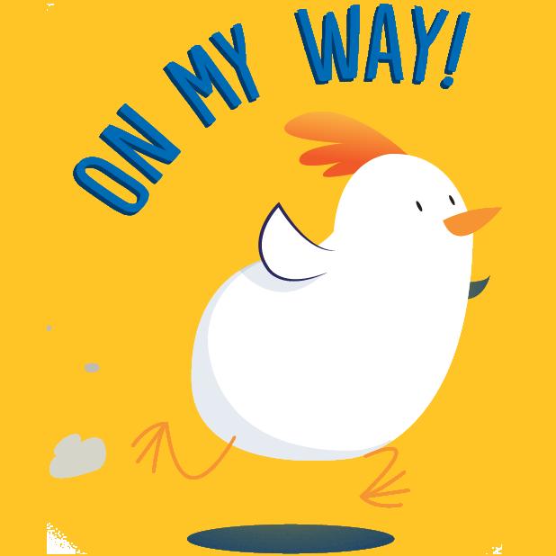 PERDUE® Chicken: Summer Chick-moji messages sticker-8