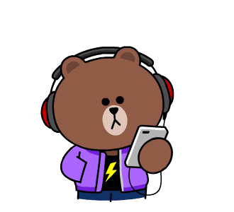 Beat Brown - LINE FRIENDS messages sticker-3