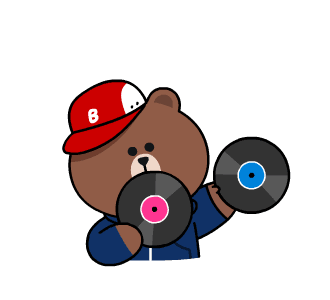 Beat Brown - LINE FRIENDS messages sticker-5