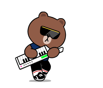 Beat Brown - LINE FRIENDS messages sticker-6