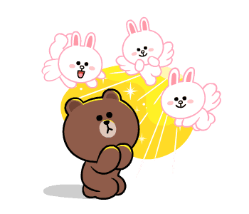 LINE FRIENDS Cute and Soft messages sticker-7
