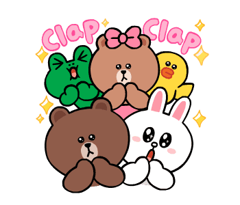 LINE FRIENDS Cute and Soft messages sticker-8