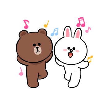 LINE FRIENDS Cute and Soft messages sticker-3